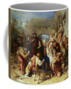 The Seven Ages Of Man Coffee Mug by William Mulready