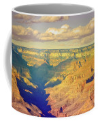 The Shadows In The Canyon Coffee Mug