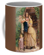 The Sinews Of Old England Coffee Mug by George Elgar Hicks