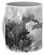 The Sinking Of The Cumberland, 1862 Coffee Mug