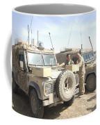 The Snatch Land Rover Used Coffee Mug