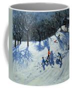 The Snowman  Coffee Mug by Andrew Macara