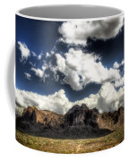 The Splendor Of The Superstitions Coffee Mug