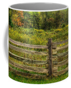 The Split Rail Meadow Coffee Mug by Benanne Stiens