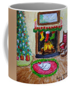 The Stockings Were Hung Coffee Mug
