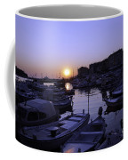 The Sun Goes Down In Rovinj Coffee Mug