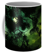 The Sun Through Clouds And Branches  Coffee Mug
