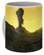 The Surface Of An Infernal Planet Coffee Mug by Fahad Sulehria