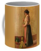 The Sweeper Coffee Mug by Pierre Auguste Renoir