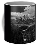 The Tetons - Il Bw Coffee Mug
