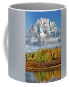 The Tetons In Autumn Coffee Mug