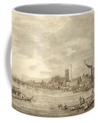 The Thames Looking Towards Westminster From Near York Water Gate  Coffee Mug by Giovanni Antonio Canaletto