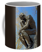 The Thinker By Rodin Coffee Mug