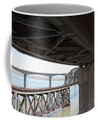 The Three Benicia-martinez Bridges In California - 5d18844 Coffee Mug