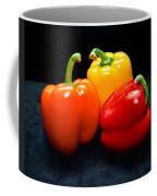 The Three Peppers Coffee Mug