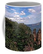 The Three Sisters - The Blue Mountains Coffee Mug