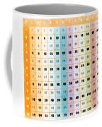 The Times Table Coffee Mug