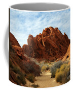 The Trail Through The Valley Coffee Mug