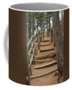 The Trail To The Top Coffee Mug