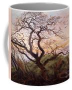 The Tree Of Crows Coffee Mug by Caspar David Friedrich