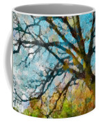The Tree Of Many Colours  Coffee Mug