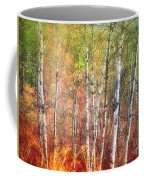 The Trees And The Colour Coffee Mug