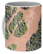 The Turbid Ituri River Channels Its Way Coffee Mug