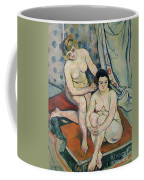 The Two Bathers Coffee Mug by Marie Clementine Valadon