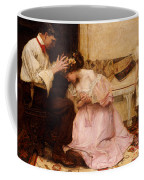 The Two Crowns Coffee Mug by Charles Sims