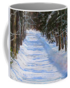 The Valley Road Coffee Mug by Jack Skinner