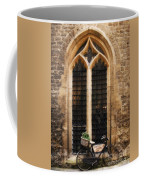 The Vaults Garden Cafe Bicycle In Oxford England Coffee Mug