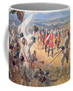 The Victory Of Montcalms Troops At Carillon Coffee Mug by Henry Alexander Ogden