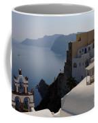 The View At Fira Coffee Mug