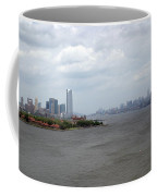 The View From The Statue Of Liberty Coffee Mug