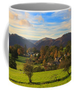 The Village Of Watermillock In Cumbria Uk Coffee Mug