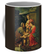 The Virgin And Child With Saints Coffee Mug by Simon Vouet