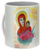 The Virgin And The Child Coffee Mug