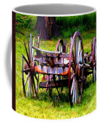 The Wagon At El Prado Coffee Mug