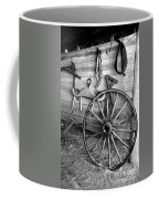 The Wagon Wheel Bw Coffee Mug