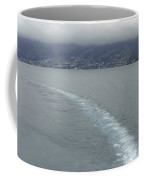 The Wake Of A Cruise Ship In Lake Lucerne Coffee Mug