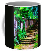The Wall Of Gravestones Coffee Mug