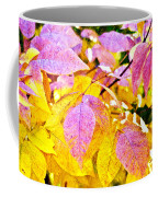 The Warm Glow In Autumn Abstract Coffee Mug