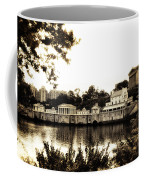 The Waterworks In Sepia Coffee Mug