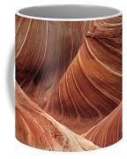 The Wave Into The Fold Coffee Mug