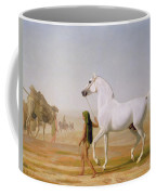 The Wellesley Grey Arabian Led Through The Desert Coffee Mug