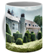 The West Wing Of Historic Hall Place  Coffee Mug