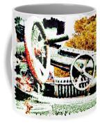 The Wheels Of War Keep On Turning Coffee Mug