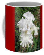 The White Iris Coffee Mug