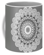 The White Mandala No. 2 Coffee Mug