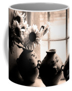 The Window Vases Coffee Mug